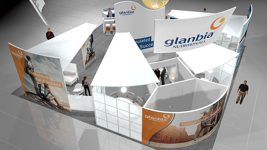 Glanbia Booth Overview