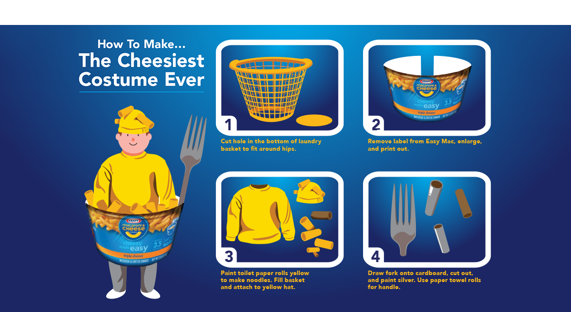 The Cheesiest Costume Ever